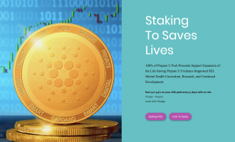 Prepare U Joins Blockchain ADA Cardano Community - Stake ADA & Save Lives article