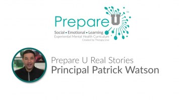 Principal Patrick Watson's Story  on Prepare U Video
